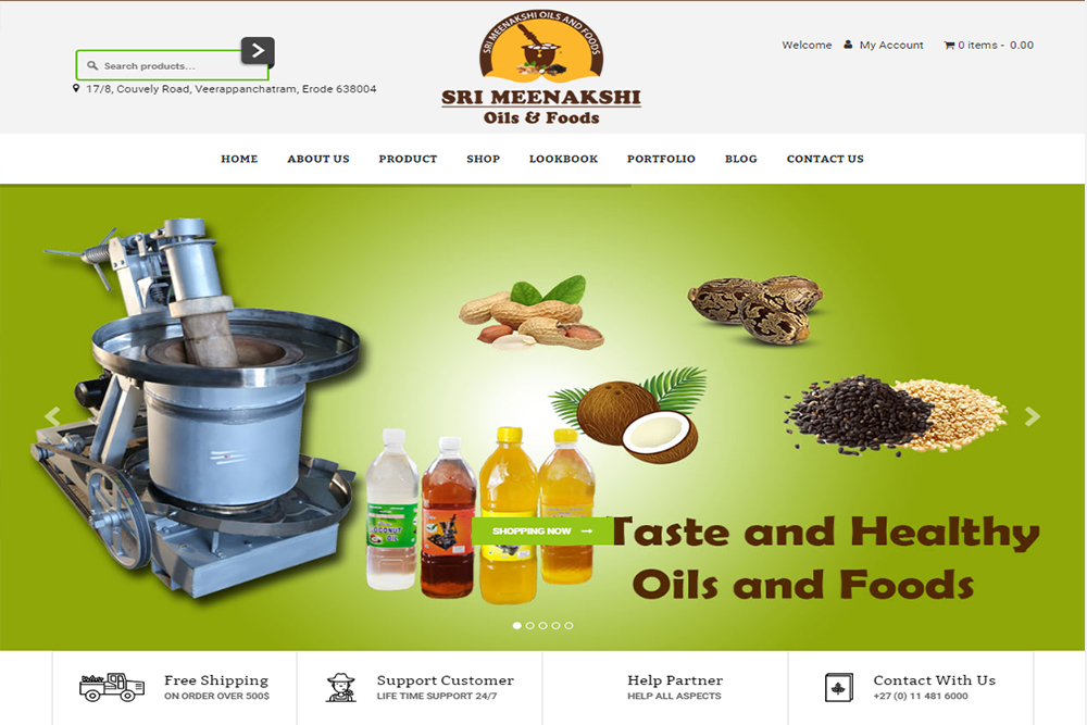 Sri Meenakshi Oil & Foods
